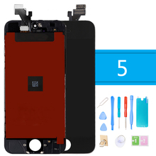LCD Display for iPhone 5 Touch Screen Replacement 5G Digitizer Assembly With Repair Tools and Gifts