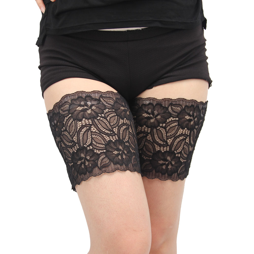 Sexy Lace Women's Thigh Bands Anti-friction Strips None Slip Plus Size Dropshipping