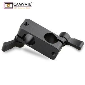 Image 4 - CAMVATE 90도로드 리거 어댑터 클램프 DSLR 15mm로드 시스템 숄더 마운트 C1102 카메라 사진 액세서리