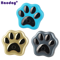 Pet Tracker GPS satellite tri mode positioning tracker dog cat burglar lost with wireless charger RF V32
