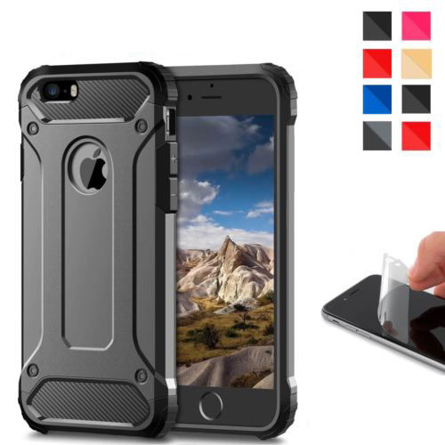 Cellphones & Telecommunications Upaitou Rugged Dual Layer Armor Case For Iphone 6 6s 7 8 Plus X Xs Max Xr 5 5s Se Case Heavy Duty Shockproof Hard Pc Tpu Cover