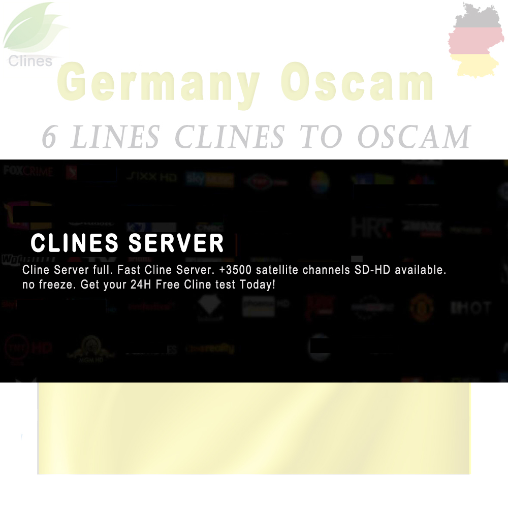 Image 2 - oscam germany cline stable Lines for 1 year europe Clines server for vu + solo duo se Satellite TV Receiver decoder-in Satellite TV Receiver from Consumer Electronics