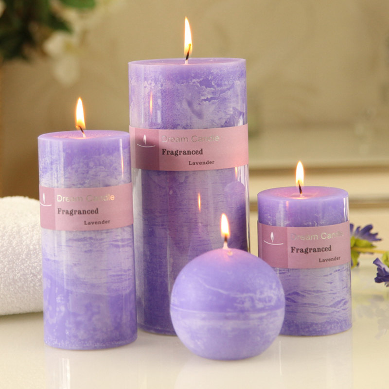 Online get cheap purple wedding candles for Candele on line