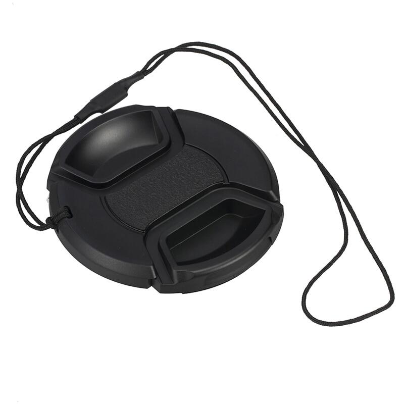 Bepattintható elülső lencsevédő kupak védőporvédő kánon - Kamera és fotó