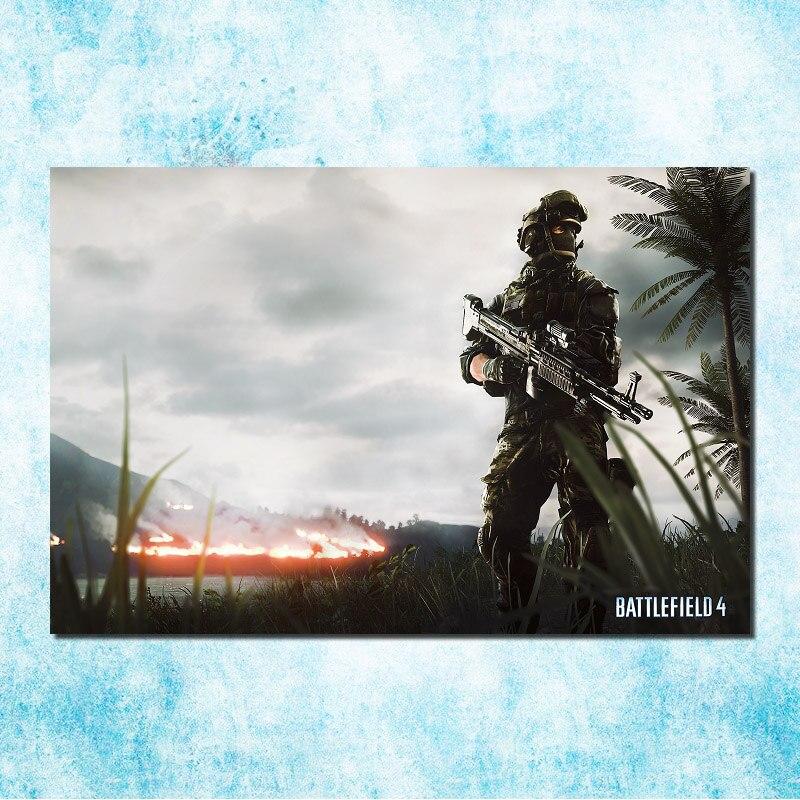 Battlefield 1 New Game Silk Poster 13x18 24x32inch