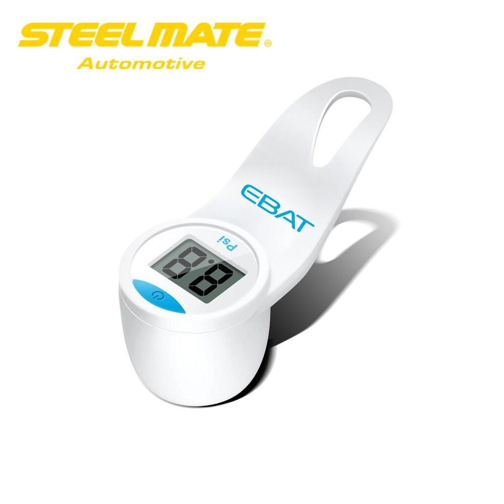Steelmate EBAT ET 101 font b TPMS b font Tire Pressure Monitoring System Mini Digital LCD