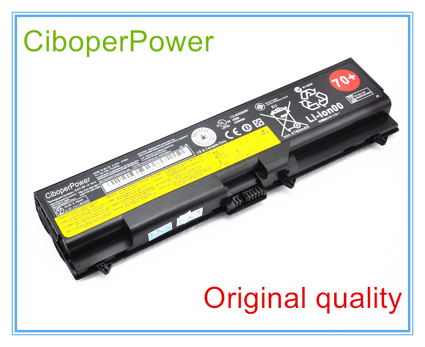 10.8V 57wh original <font><b>battery</b></font> T430 for T430i T530i T530 T630 W530 <font><b>L430</b></font> laptop Free shipping image