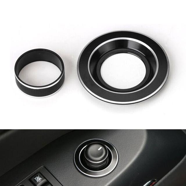 YAQUICKA 2pcs avtomobilsko stikalo za vzvratno ogledovanje gumba - Dodatki za notranjost avtomobila - Fotografija 3