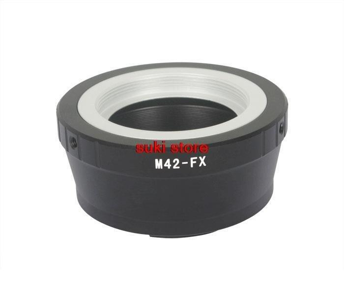 Винтовое крепление объектива для Fujifilm M42 FX FX XPro1, 10 шт./лот, адаптер, сменная камера, M42