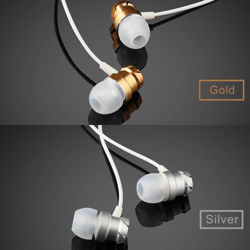 3.5mm słuchawki przewodowe bezobsługowy zestaw słuchawkowy w ucho słuchawki słuchawki douszne z mikrofonem dla Xiomi Xaomi Iphone Xiaomi telefon komórkowy MP3 laptop