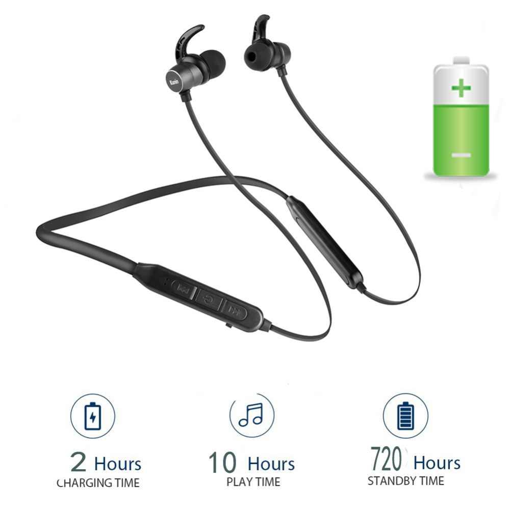 Auriculares Bluetooth 10Hr auriculares inalámbricos V5.0 Cancelación de ruido auriculares deportivos con micrófono fone de ouvido para Xiaomi