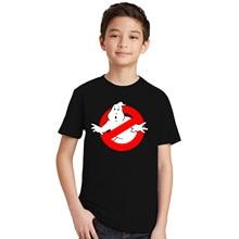 3800a3c2b 1-12 años los niños camiseta cazafantasmas película LOS NIÑOS Camiseta de  manga corta T