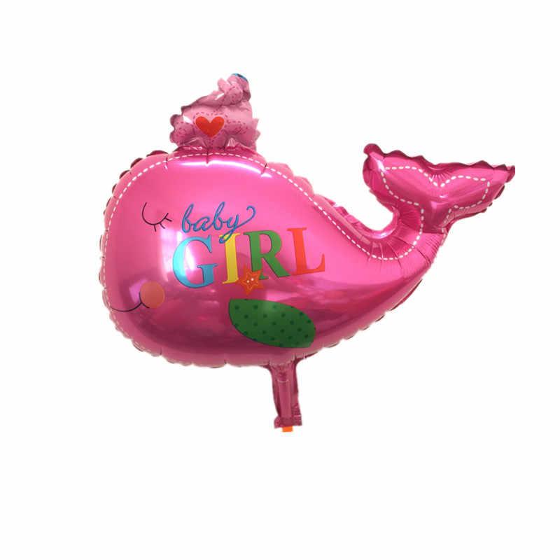 בלון תינוק מקלחת לווייתן מסיבת רדיד תינוק ילד ילדה בלוני מסיבת יום הולדת קישוט baloes דה festa