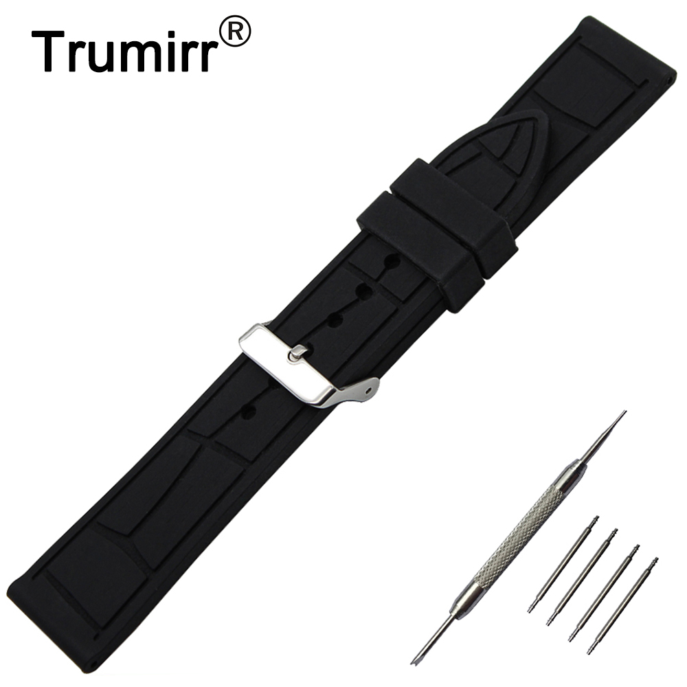 19mm 20mm 21mm 22mm 23mm 24mm Silicone Rubber Watchband for Tissot 1853 T035 T097 Watch Band Quick Release Pin Strap Bracelet curved end genuine leather watchband for tissot 1853 watch band butterfly clasp strap wrist bracelet black brown 22mm 23mm 24mm