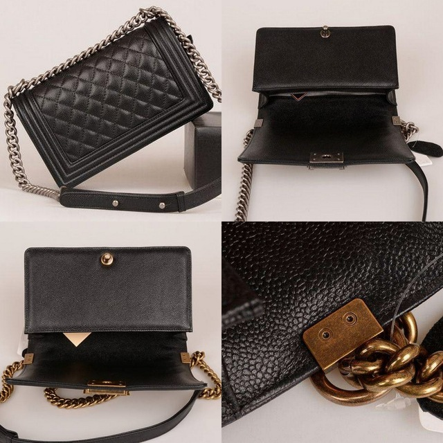 Роскошные дизайнерские женские классические Икра черный мальчик цепи сумки на плечо известный бренд натуральной кожи Crossbody сумки для Для ж