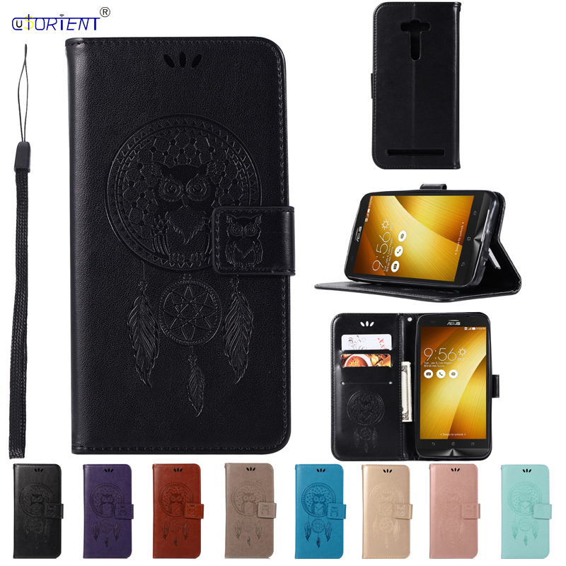 Flip Wallet Case for <font><b>Asus</b></font> Zenfone 2 Laser ZE500KL Cover Phone Leather Case for Funda <font><b>ASUS</b></font>_Z00ED Z00ED ZE 500KL <font><b>500</b></font> <font><b>KL</b></font> Phone Bags image