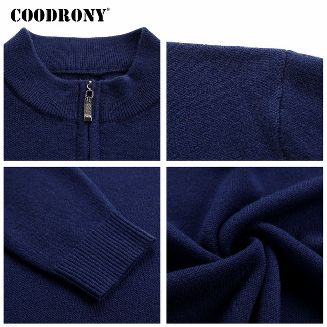 Cashmere Sweater Men Clothes Thick Warm Wool Pullover  5