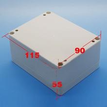 waterproof Plastic Project Box Instrument Enclosure 115x90x55mm(L*W*H) DIY NEW