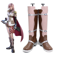 Botas Jogo Final Fantasy XIII 13 Relâmpago Cosplay Shoes