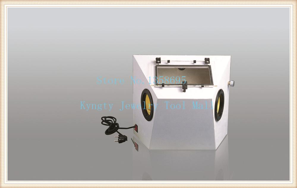 Portable sand blasting machine jewelry Small Sandblasting Machine Dental Tools high quality 2pcs 3x20x35mm dental sand blasting cabinet sandblasting nozzle