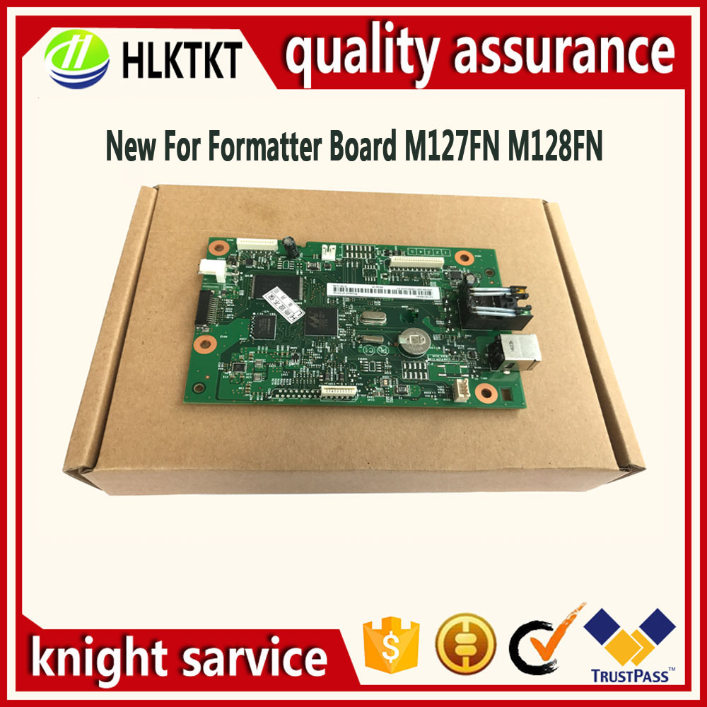Original new CZ181-60001 CZ183-60001 Formatter Board for HP M127FN M128FN M127 M128 M127FW 127FW M128FW 127 128FW mother board formatter board for hp m127 m128 m127fn m128fn cz181 60001 cz183 60001