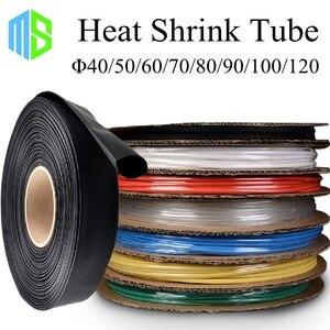 40/50/60/70/80/90/100/120mm rurka termokurczliwa 7 kolorów 8 rozmiarów Wire Wrap rękaw izolacji termokurczliwa przewód zestaw