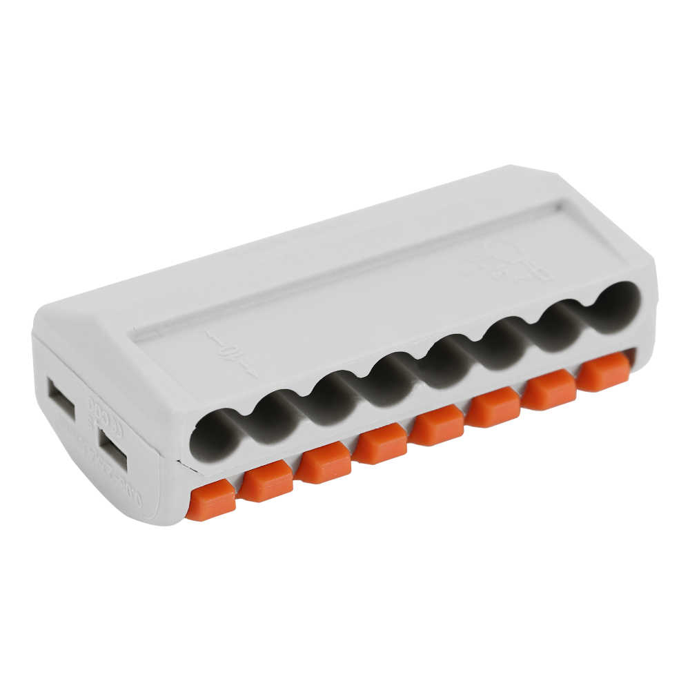 9 шт. 8-канальный видеорегистратор электрические соединители проводов огнестойкий кабель Соединительная коробка набор универсальное быстрое Комплект быстрой установки терминалов