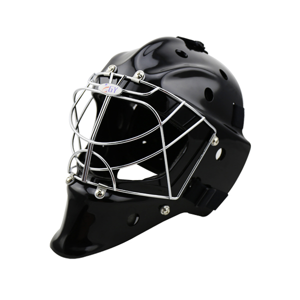 Free shipping New design ABS outshell PE inner Floorball helmet street hockey helmet with A3 steel cage