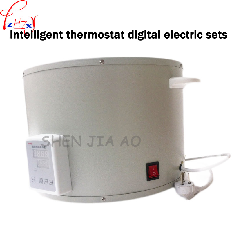 ZNHW-II intelligent thermostat digital heating set of 1000mL thermocouple temperature constant temperature digital heating set new multifunction intelligent thermostat baby double bottle warmers sterilizers thermal insulation heating egg milk warmer