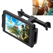 Car Headrest Mount Stand for Nintendo Switch,Adjustable Holder for Nintendo Switch NS/iPhone/iPad/Amazon Kindle Fire