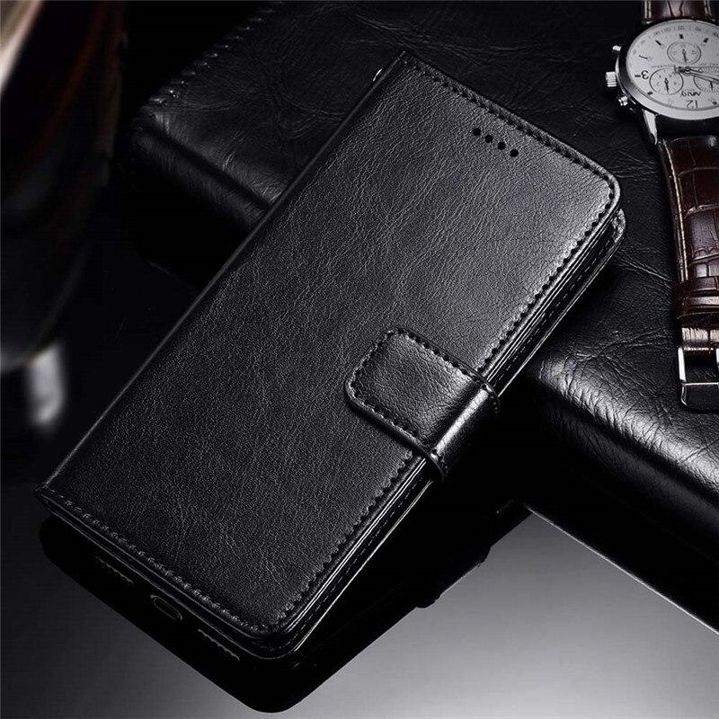 SRHE For Doogee Mix 2 Case Cover Flip Leather Card Wallet Silicone Cover For Doogee Mix 2 Mix2 Case With Magnet Holder
