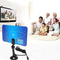 High Definition Digital UHF VHFPC TV Recieve Antenna Digital Indoor TV Antenna HDTV DTV Box Ready