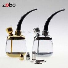 Zobo Coole Gadgets Tragbare Mini Acryl Wasser Pfeife Shisha Shisha Bicirculation Filter Zigarettenspitze für Gesunde