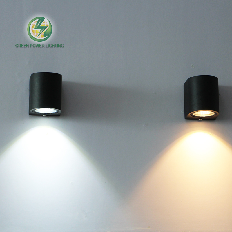 Pared al aire libre impermeable iluminación Led lámpara de pared, superficie pared mouted led wall sconce 3 W 85-265 V