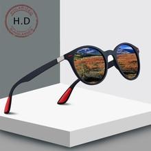 Glitztxunk Polarized Sunglasses Men Women Retro Brand Designer High Quality Female Male Round Sun Glasses For Goggle okulary