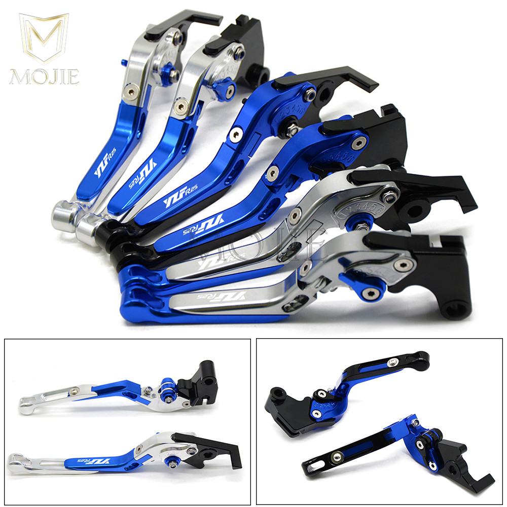 YZF R25 Lever Motorcycle Levers For Yamaha YZF R25 YZF R25 2015 2017 2016 Adjustable Folding
