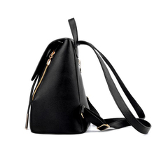Fashion Women Backpack High Quality PU Leather For Teenagers