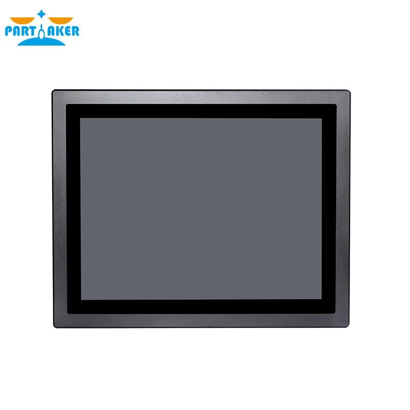 Z11 Linux IP65 15 дюймов промышленный Сенсорный экран Панель ПК 3855U Процессор промышленная Сенсорная панель ПК все в одном компьютере 4G Оперативна...