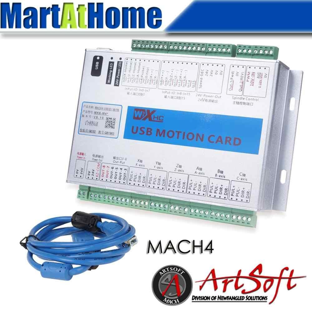 Detail Feedback Questions About Xhc Usb 2mhz Mach4 Cnc 6