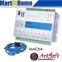 XHC USB 2MHz Mach4 CNC 6 Axis Motion Control Card Breakout Board MK6 M4 for Machine Centre, CNC Engraving Machine #SM782 @SD