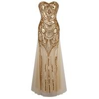2017 Elegant sequin maxi mermaid dress Women party summer dress sexy mesh long dress vestidos