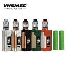 [Loja Original] Original Wismec SINUOSO P228 Kit com Elabo Tanque 4.9 ml 228 W Caixa de cigarro Eletrônico Mod com 18650 bateria