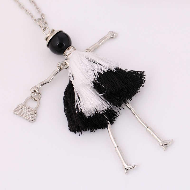 Chenlege moda 2018 llaveros dijes borla llavero bolsa colgante aleación mujeres llavero señora hecho a mano soporte llavero accesorio