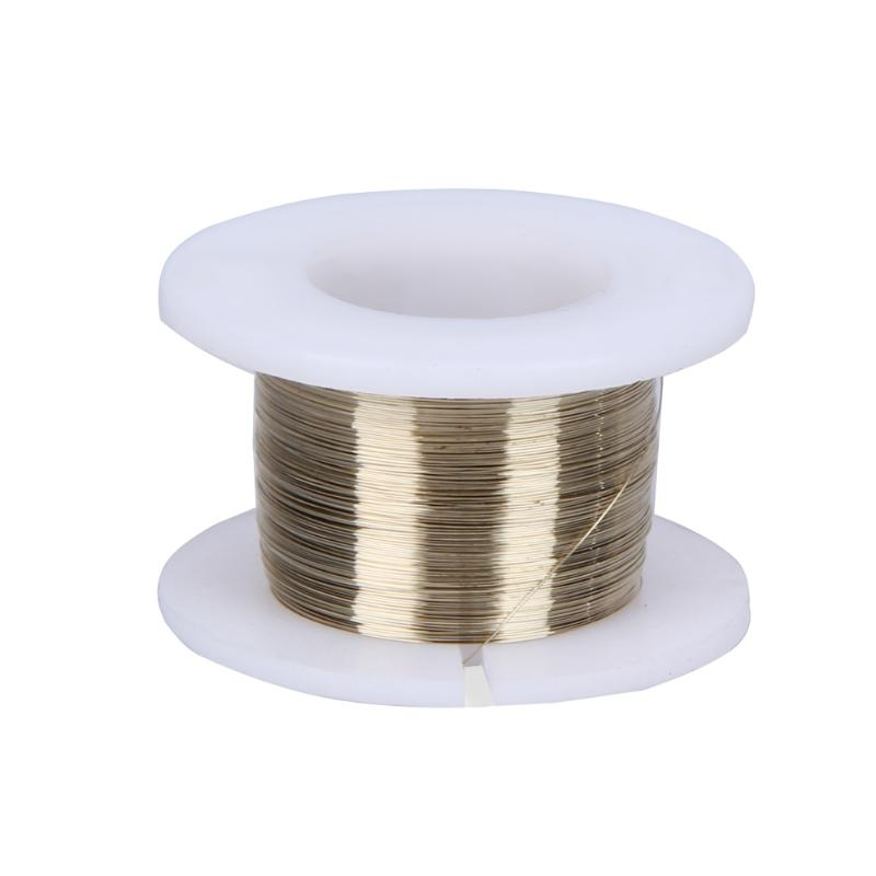 Gold Molybdenum Wire 0.10mm 100M LCD Cutting Glass Of Separation Line For Mobile Phone Glass Cutting Line