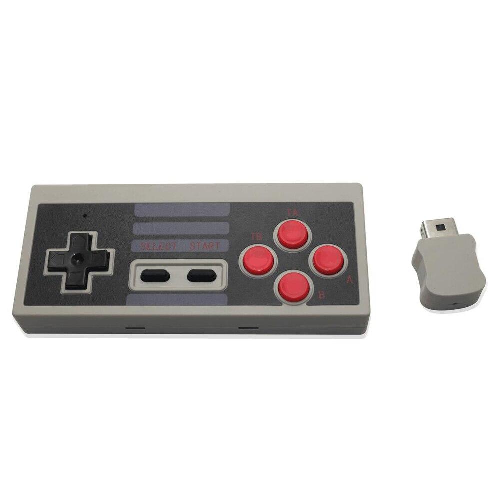 2.4G Wireless Controller Gamepad for NES Classic Edition Nintend Mini Console controller joystick TURBO+A+B