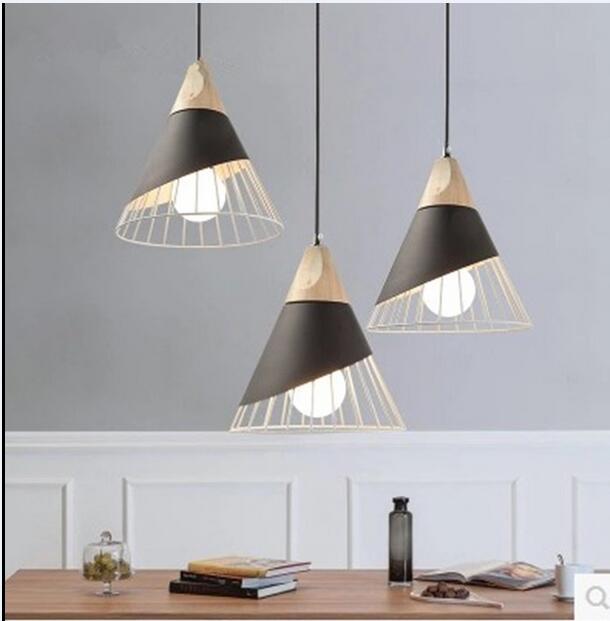 Chandelier Nordic living room bar table lamp bedside bedroom restaurant creative persona ...