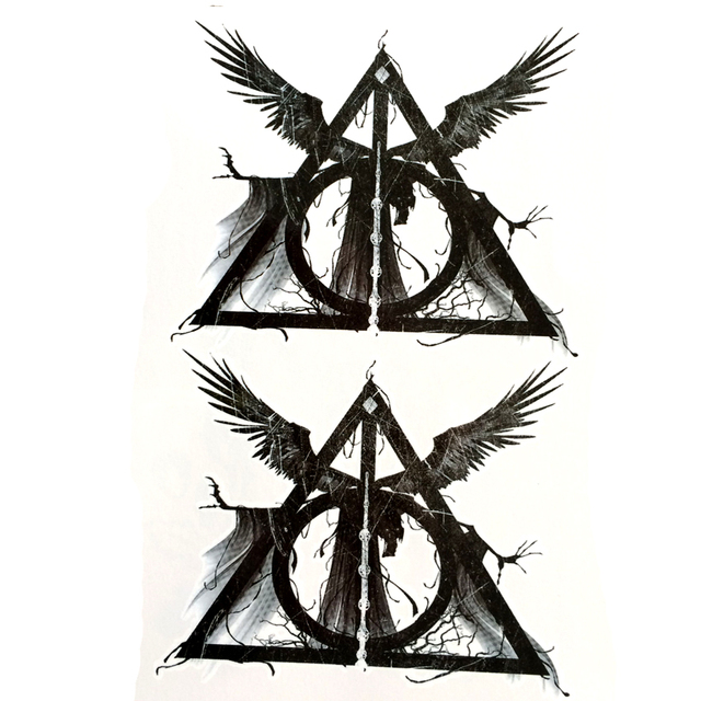 05192bd945c93 The Devil Lucifer Comes Waterproof Temporary Tattoos men devil seal Fake  Tattoo body art tatoo sleeve
