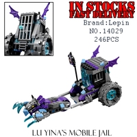 Lepin 14029 246pcs Nexus Knights Building Blocks set Ruina's Lock & Roller Figures KidsGifts bricks toys compatible 70349
