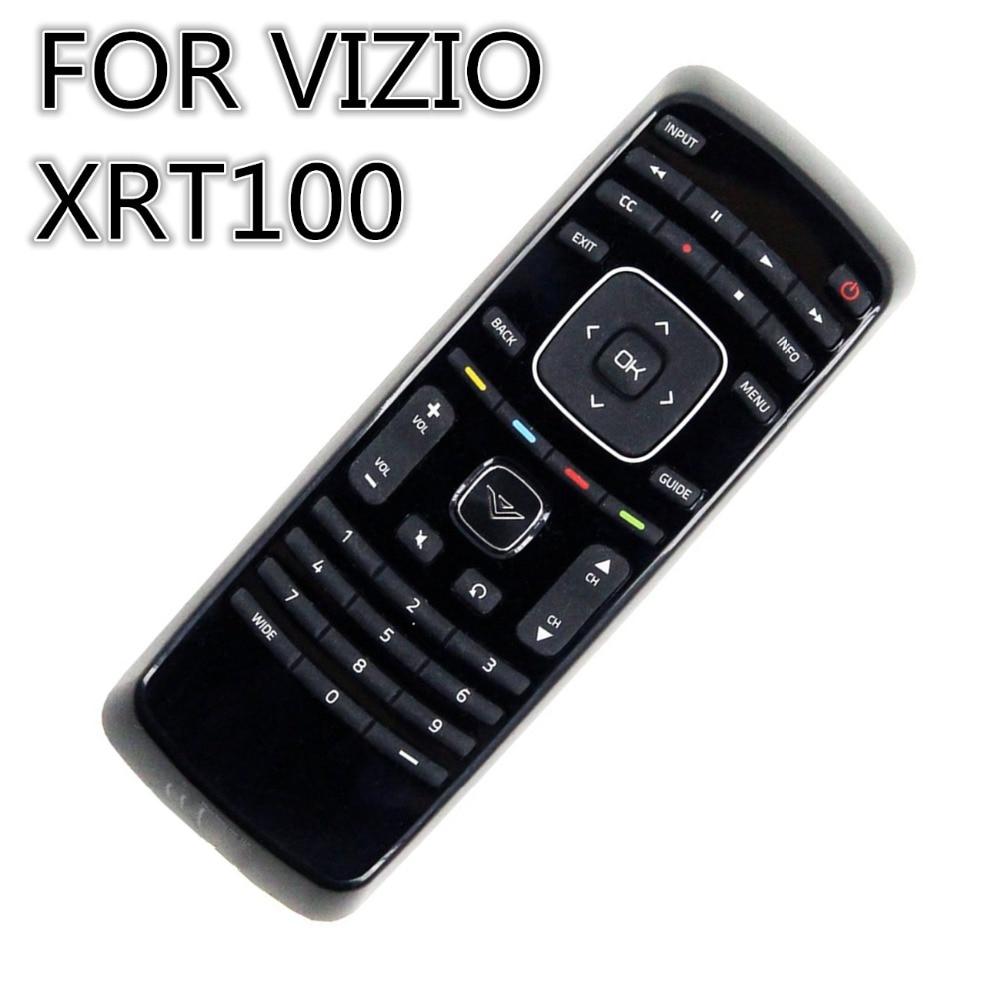 remote control suitable for  Vizio LCD TV 3-Device Universal Remote Controller XRT100 universal replacement remote control fit for vizio vp42 vp50 vm190vxt lcd led plasma hdtv tv