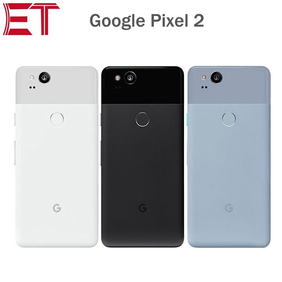 "Original EU Version Google Pixel 2 4G Mobile Phone 5.0""1920x1080 4GB RAM 64GB/128GB ROM OctaCore Snapdragon835 Android Phone NFC"